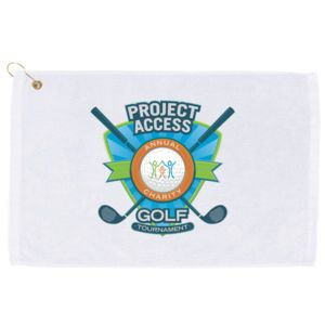 Personalized Golf Towel - Horizontal Print Thumbnail