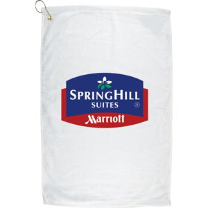 Personalized Golf Towel - Vertical Print Thumbnail