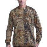 s ™ Realtree ® Long Sleeve Explorer 100% Cotton T Shirt with Pocket Thumbnail