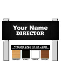 Easy Decorate Bar Height Director Chair Thumbnail